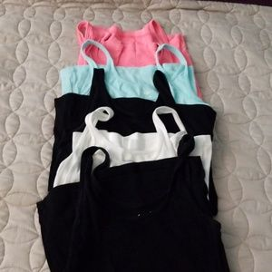 5 GUC Old Navy tank tops size small